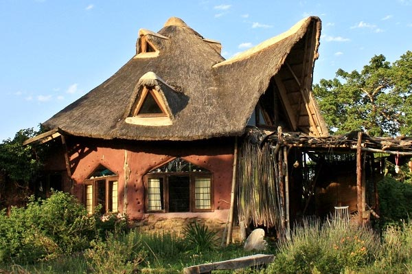 Cob House, Khula Dhamma, Eastern Cape, South Africa